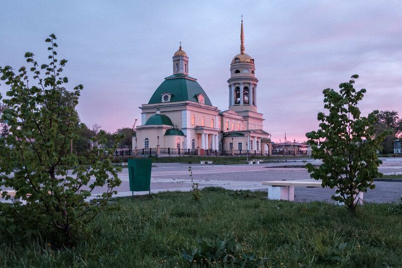 Свято-Троицкий собор Каменска-Уральского, по улице Ленина
