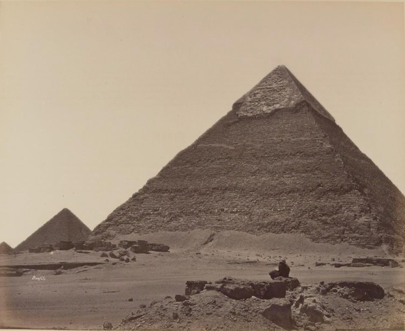 Гиза. Три Пирамиды