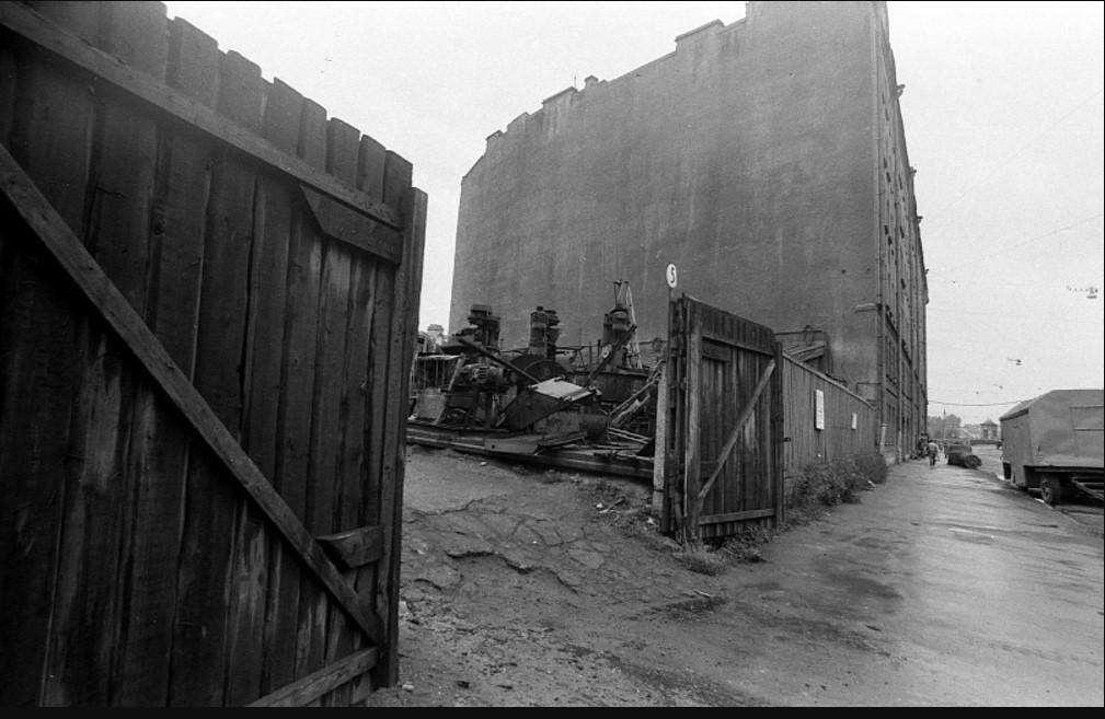 Фонтанка. Близ Калинкина моста. 1970-е.
