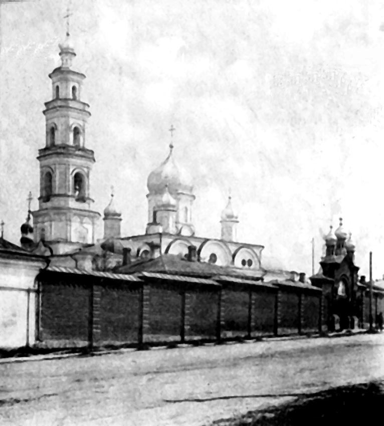 Спасский Новодевичий женский монастырь, вид со стороны Чебоксарской улицы