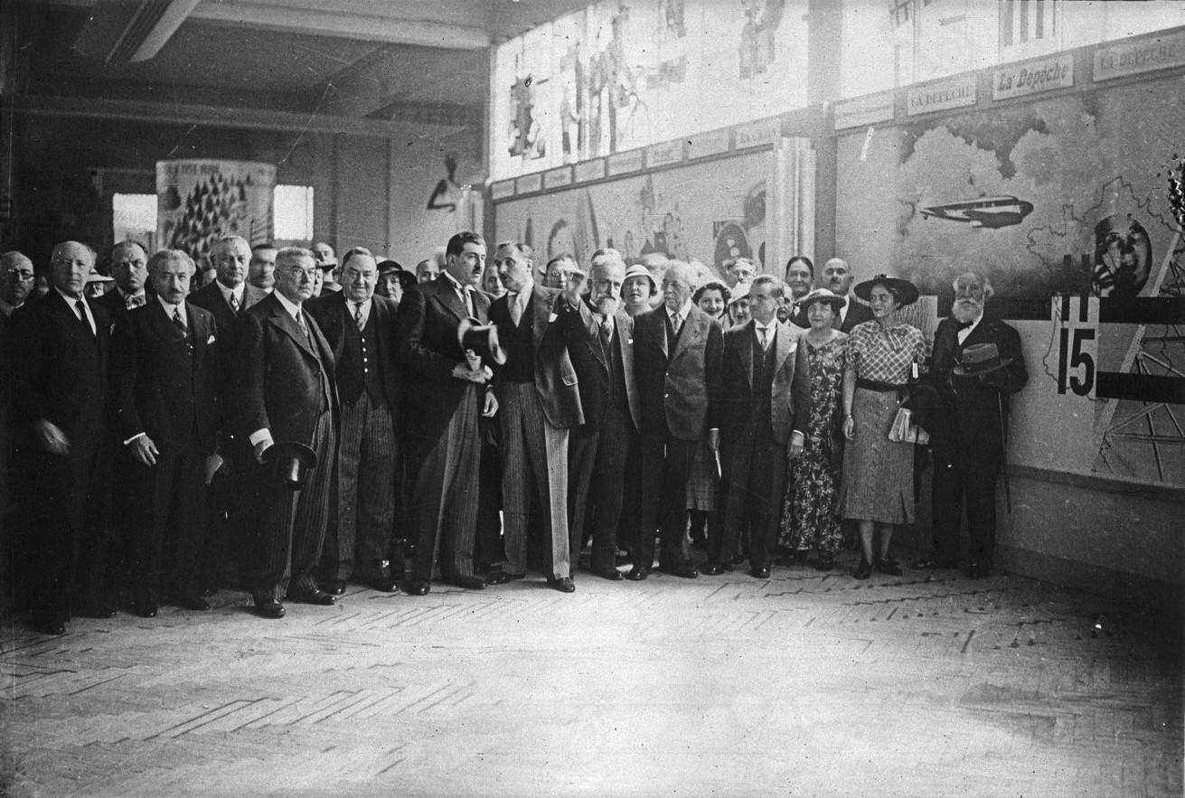 Торжественное открытие Павильона Печати