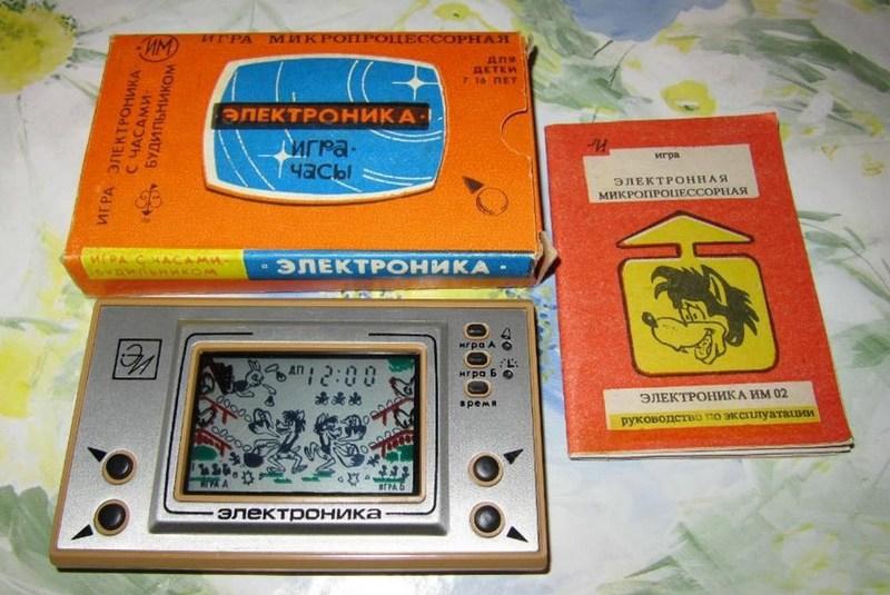 Электроника из СССР