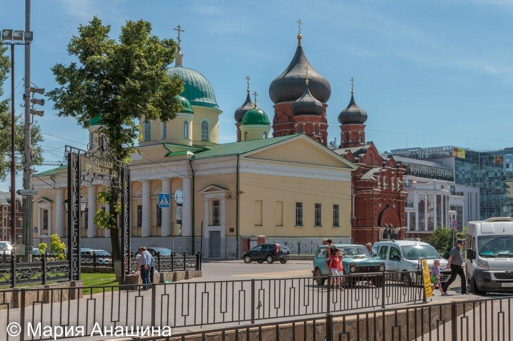 Храм Преображения Господня и Успенский кафедральный собор