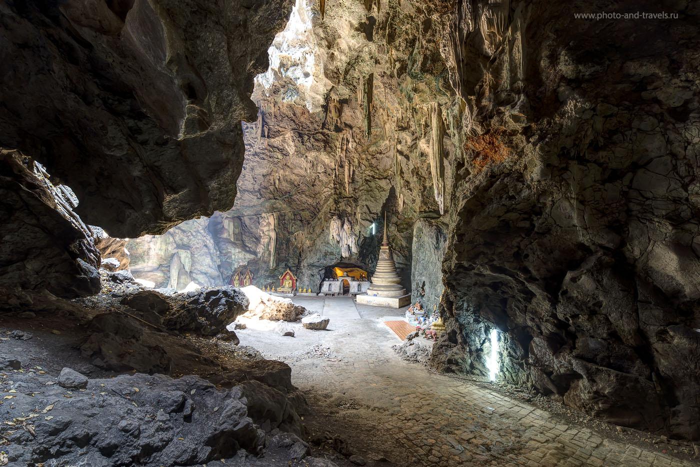 Фото 19. Один из залов пещеры Tham Khao Luang Cave, что на окраине города Phetchaburi в Таиланде. Самостоятельный тур на машине, взятой в аренду