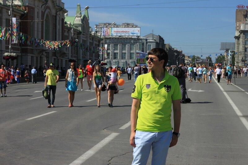 Новосибирск, День города (Novosibirsk City Day)