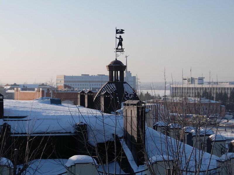 Томск - Знак с годом основания города