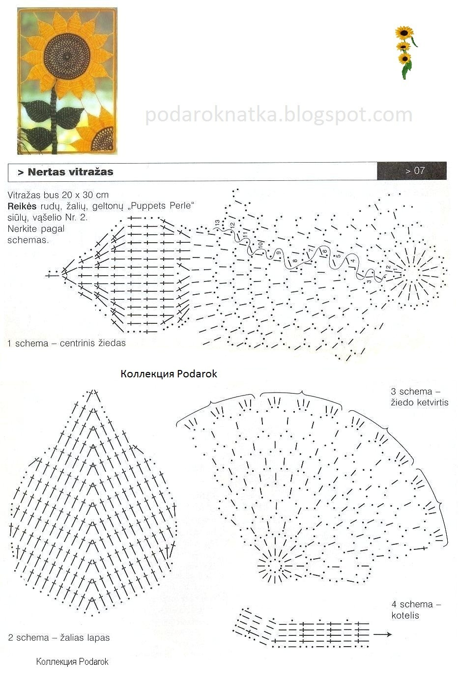 Мотивы схем вязания на спицах
