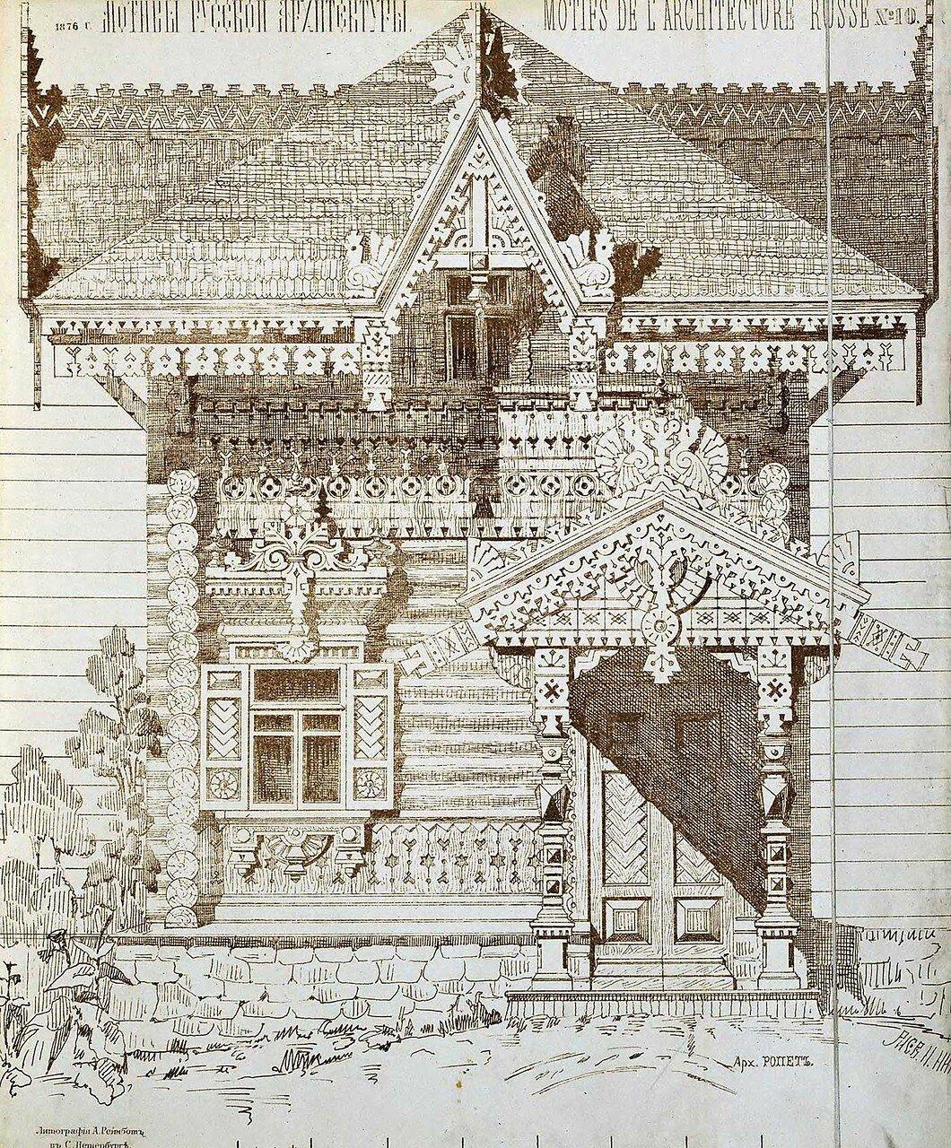 Загородный дом. Фасад