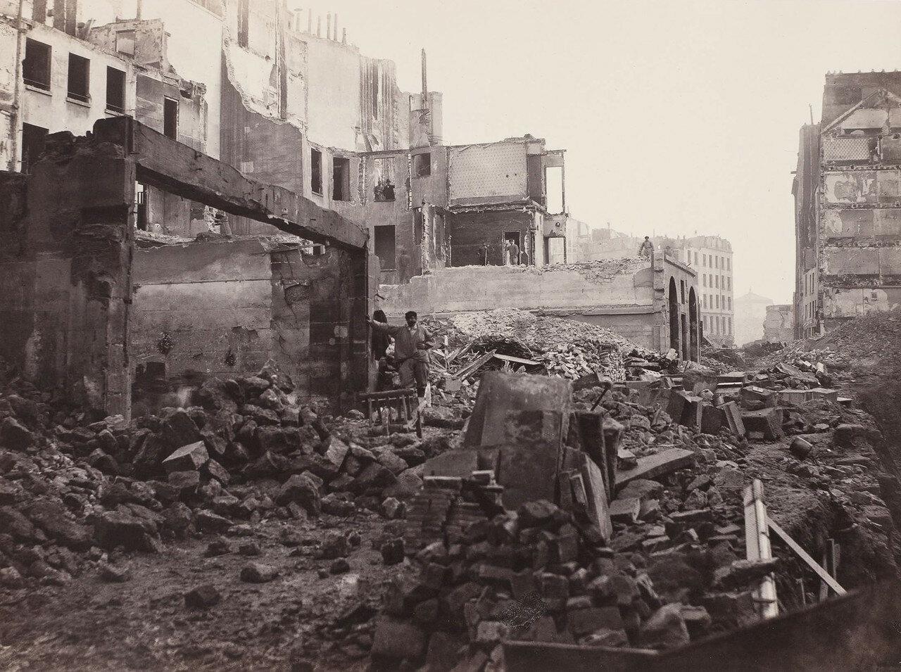 1865-1868. Пробивание авеню Оперы: Монмартский холм, урезывание рю Сен-Рош
