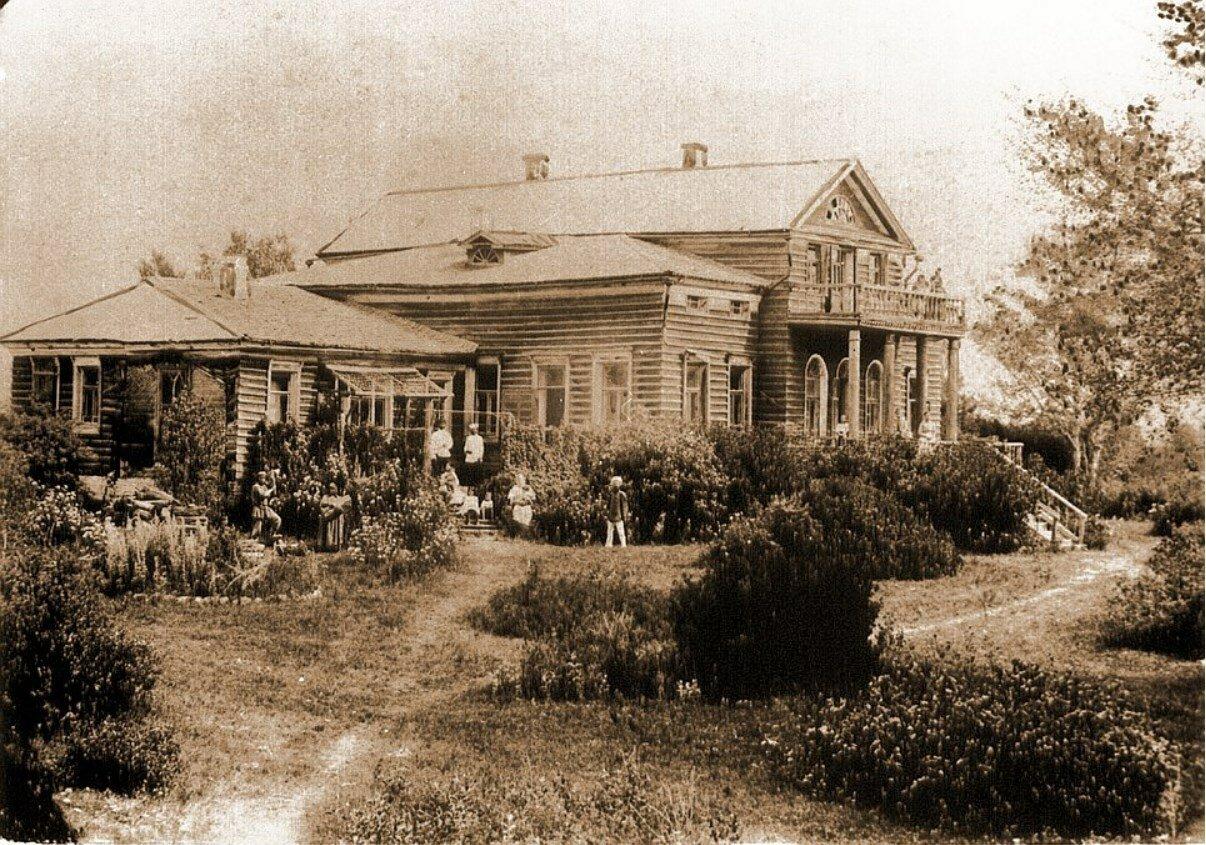 Усадьба Новинки Кинешемского уезда. Господский дом