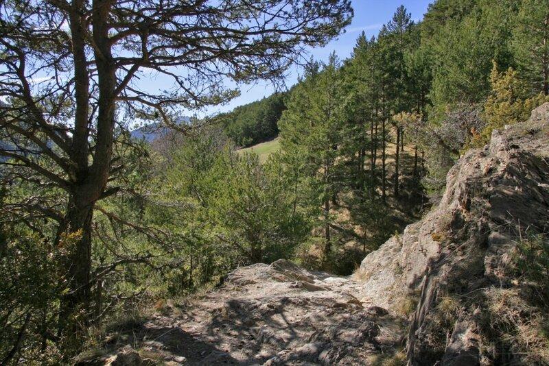 В горах, Ордино