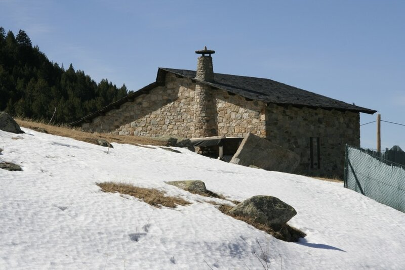 Андорра, Энкамп, дом в горах