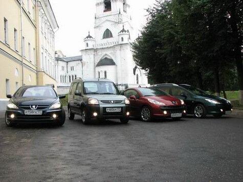 Автомобили Peugeot прокатились по российской глубинке