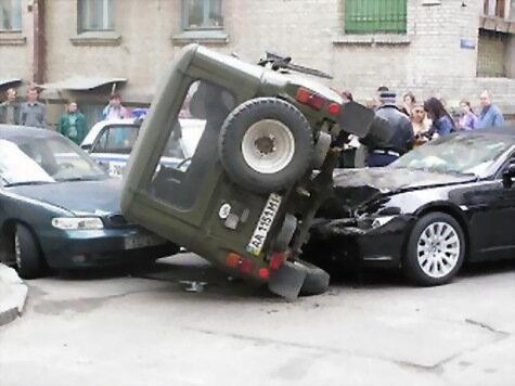 Девушка в аварии