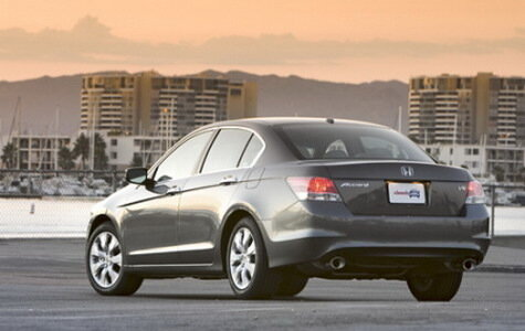 Тест-драйв Honda Accord 2008 (USA)
