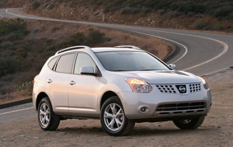 Тест-драйв кроссовера Nissan Rogue 2008