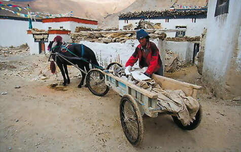 Тибет не терпит суеты и торопливости