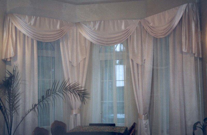 7 - пошив: шторы, ламбрекены, тюль.