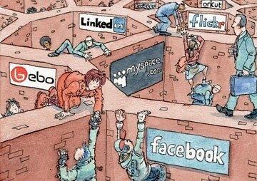 О социальных сетях