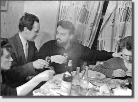 22 января 1963 года. ДР  Александра Меня (справа).