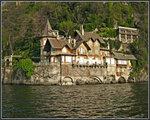 Старая вилла на озере