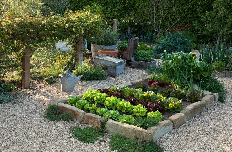 Огородный дизайн своими руками