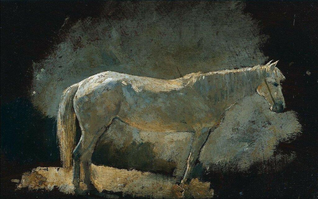 1280px-Winslow_Homer_-_White_Mareок. 1868.jpg