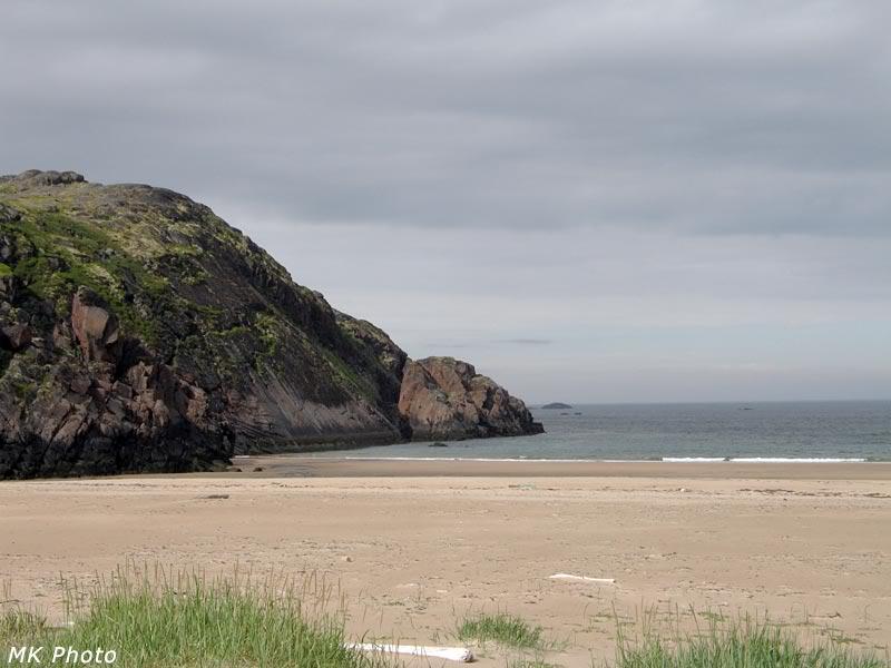 Край пляжа