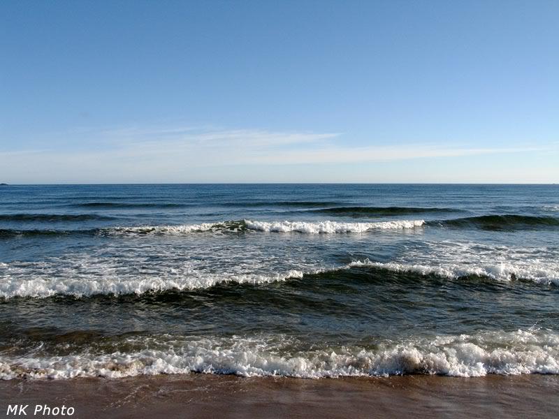 Море в солнечную погоду