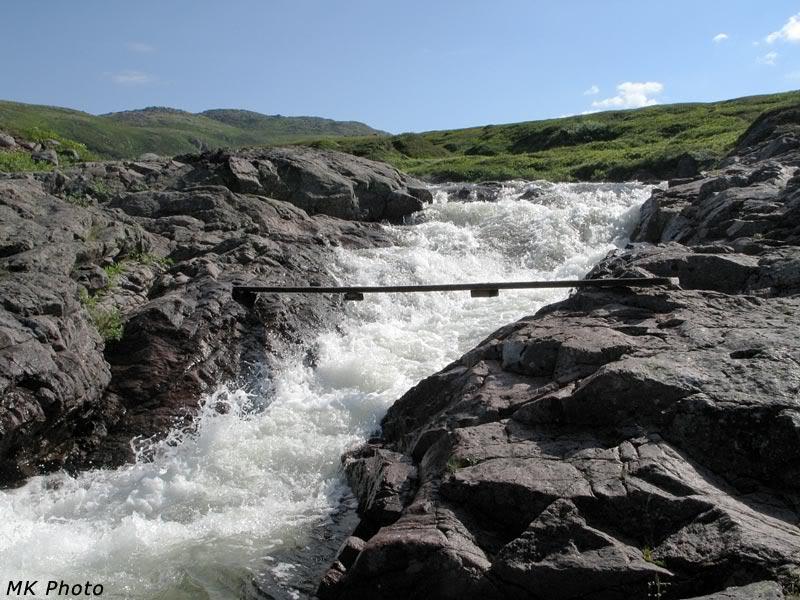 Водопад на Орловке
