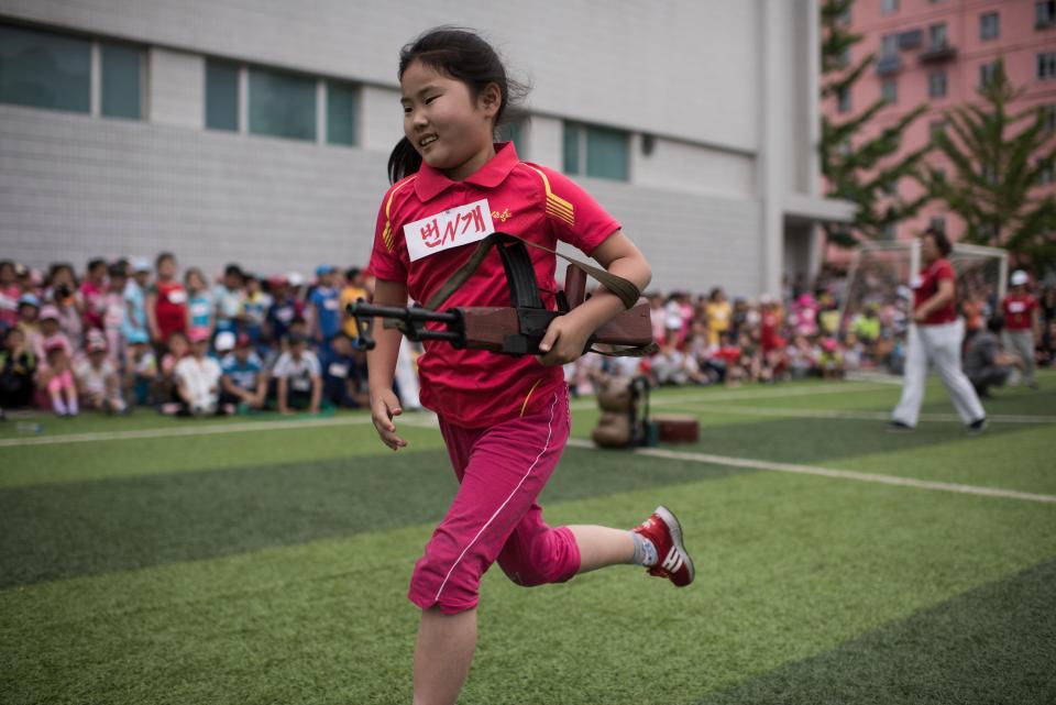 В Северной Корее с детства приучают родину любить