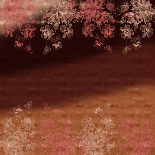 【背景挂件分隔线素材篇】唯美的制图用背景素材19 - 浪漫人生 - .