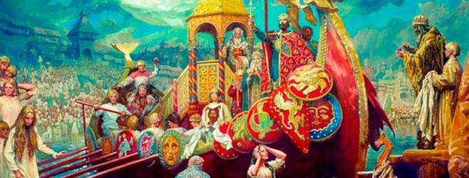 Христианизация Древней Руси! открытки фото рисунки картинки поздравления