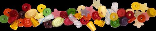 россыпи конфет