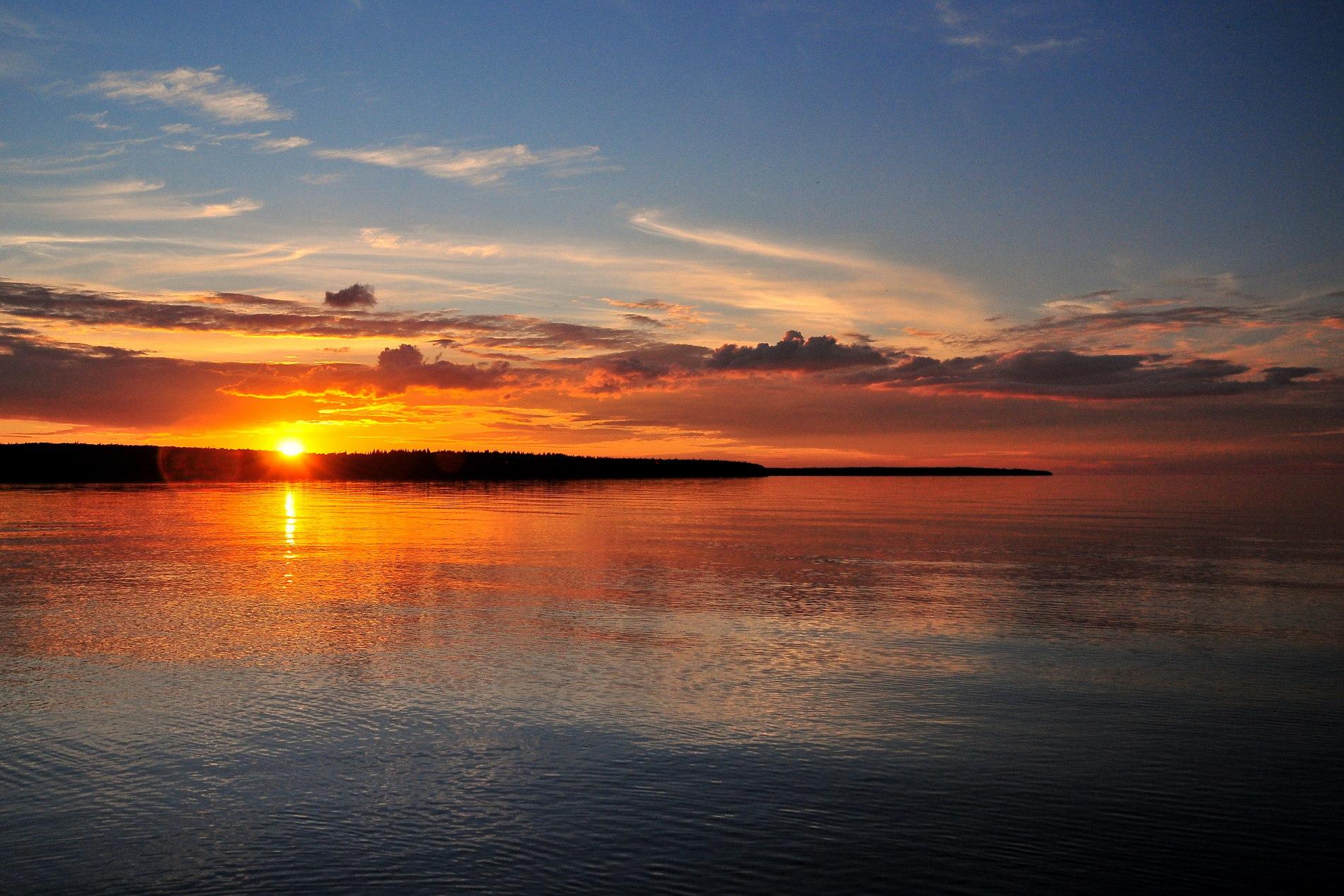 на озере Онега