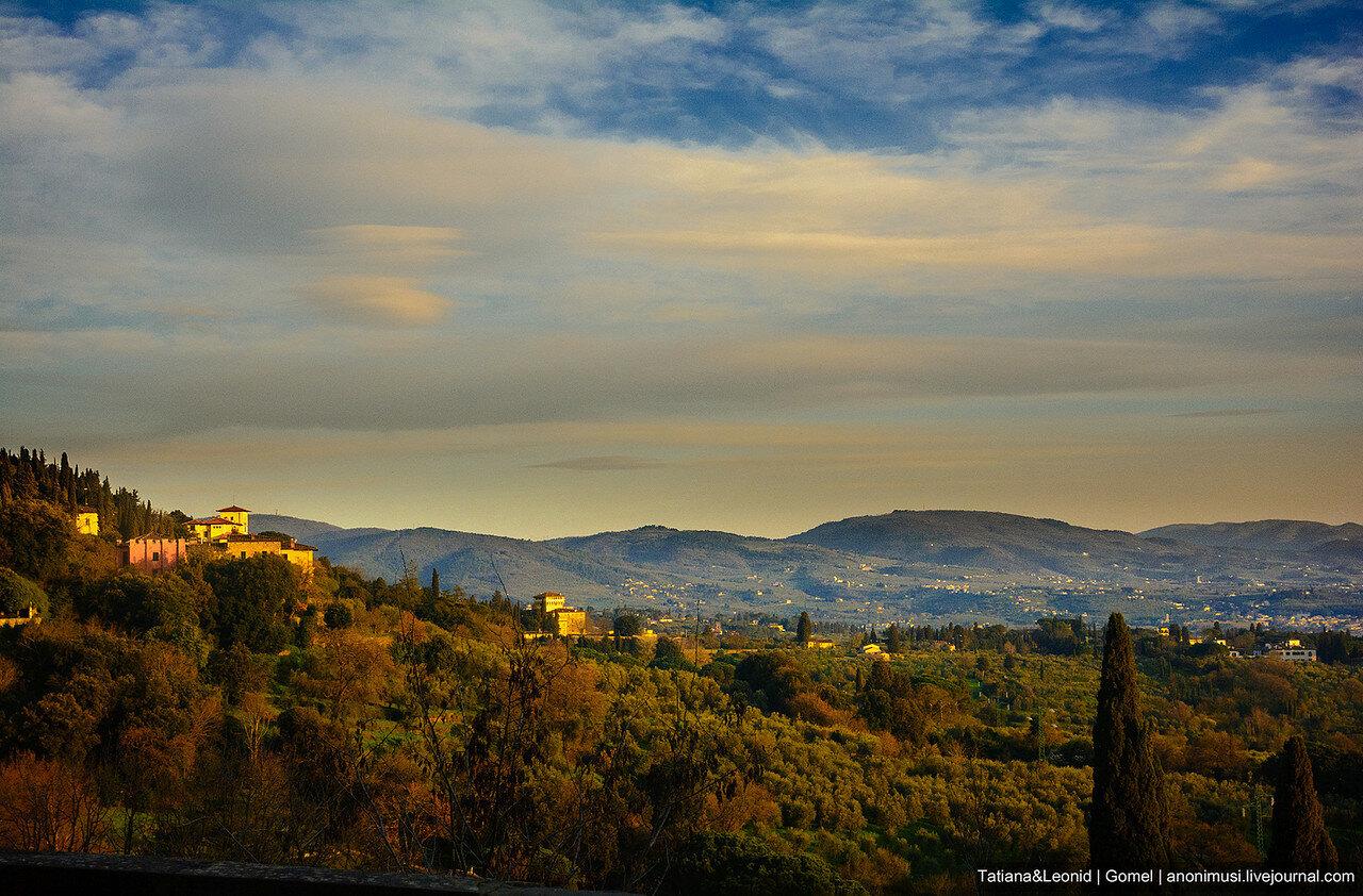 Пригород Флоренции. Италия