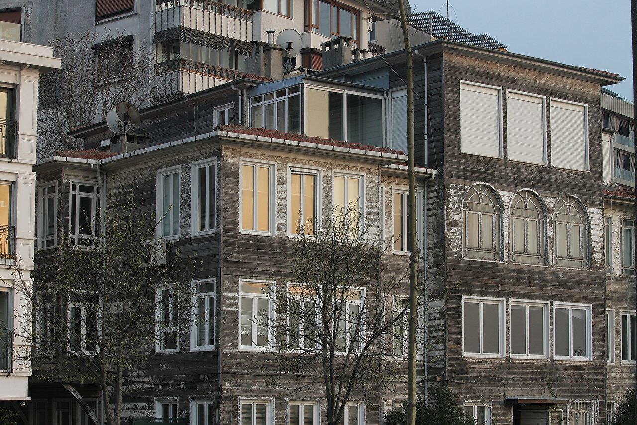 Стамбул. Набережная Ускюдар Гарем Сахил Йолу (Üsküdar Harem Sahil Yolu)