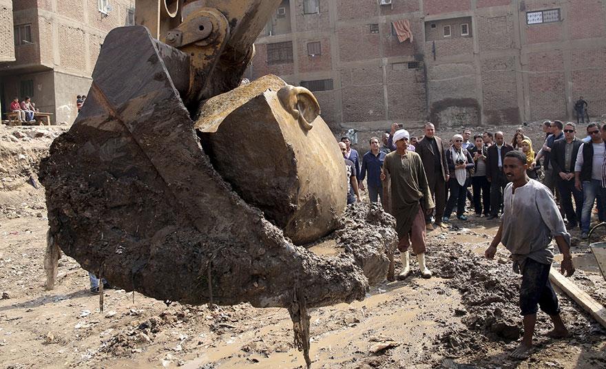 Ранее в северных районах Каира были обнаружены другие руины Гелиополя, из чего следует, что найденна
