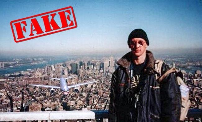 © snopes  Эта фотоутка появилась винтернете всего через несколько недель после атаки 11сентя