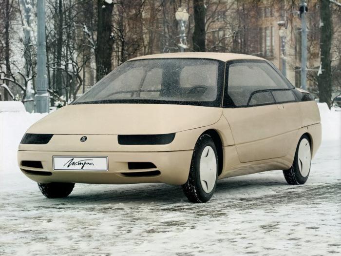Советский футуристчиеский автомобиль!