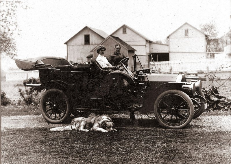 1911 EMF Roadster
