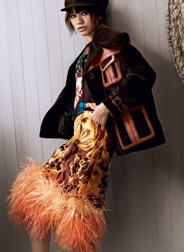 Зендайя в Vogue
