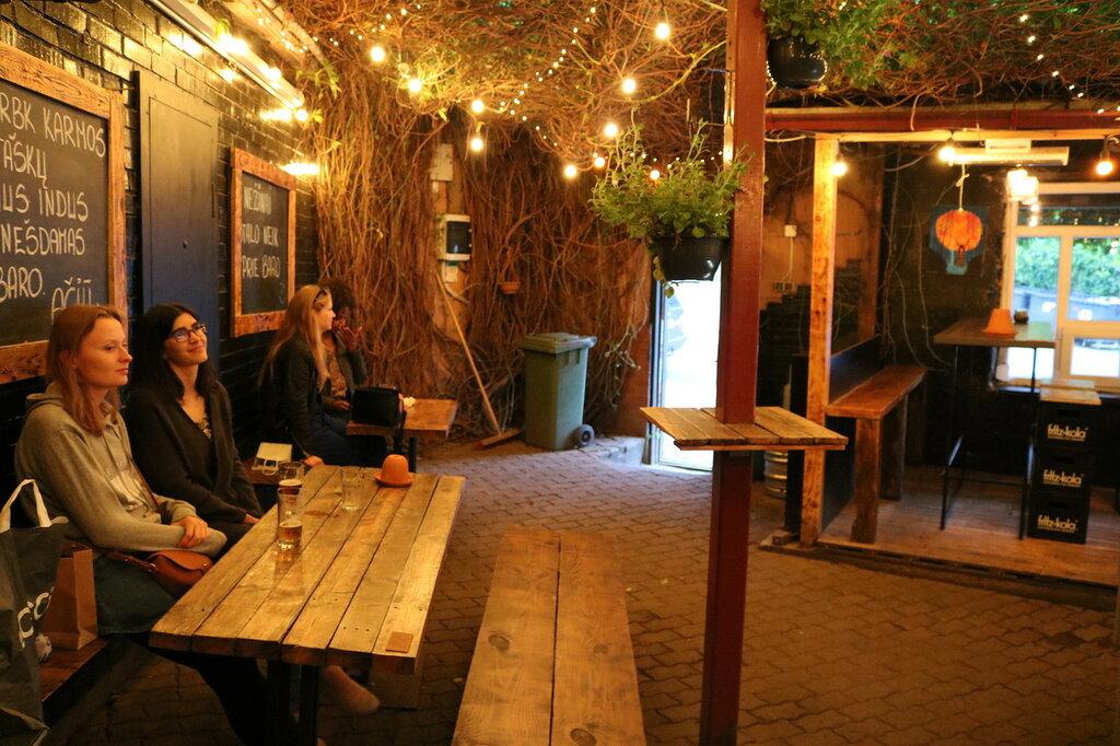 Vijokliai Beer Garden