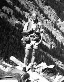 Граф в геологической экспедиции, 1959 год