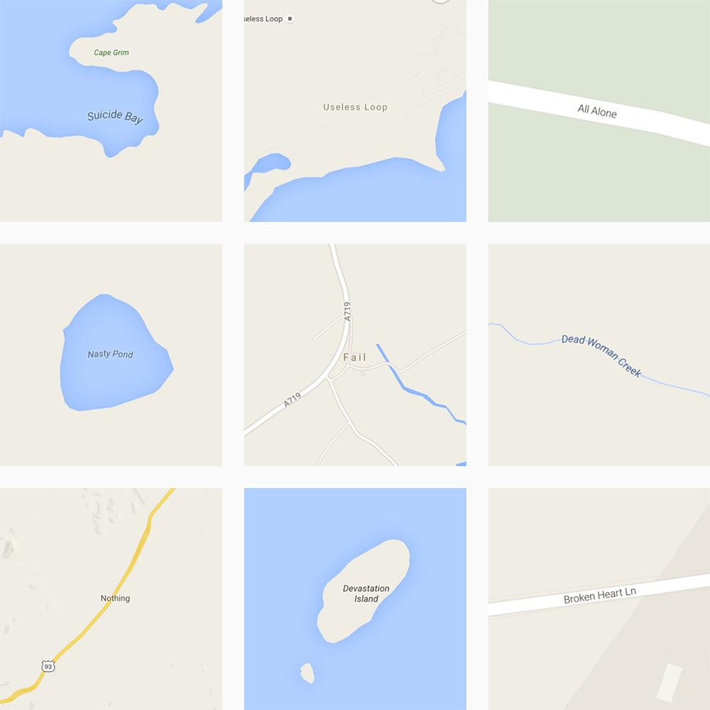 Archiving the World's Saddest Destinations Via Google Maps (5 pics)