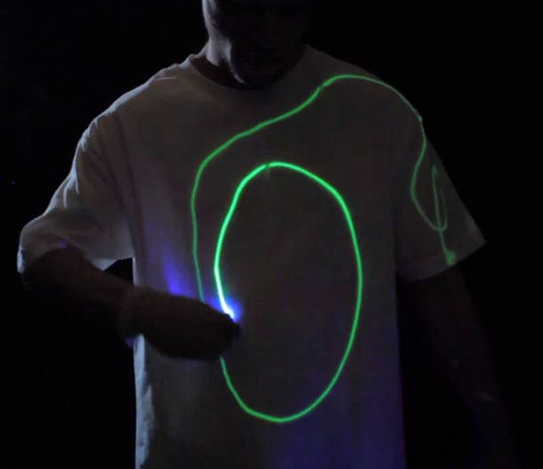 Gadget of the day - Interactive Glow Shirt
