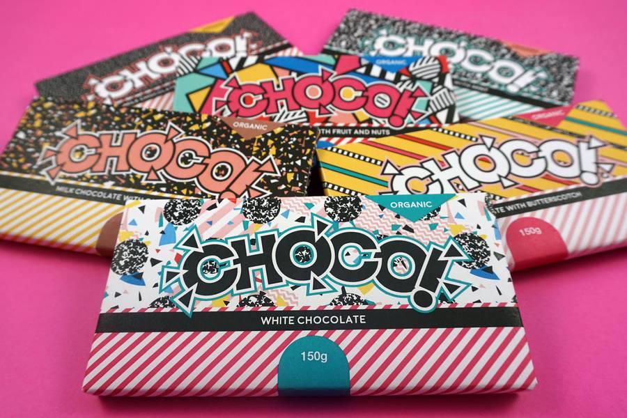 The Pop Visual Identity of CHOCO (8 pics)