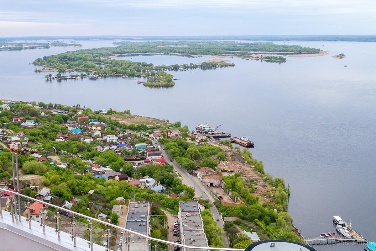 Вид на Саратов с Volga Sky фото 18