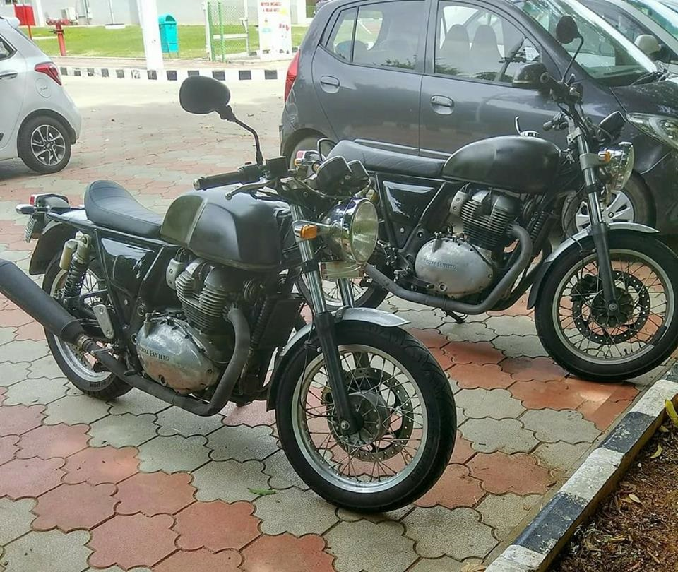 Звук нового мотора Royal Enfield 750