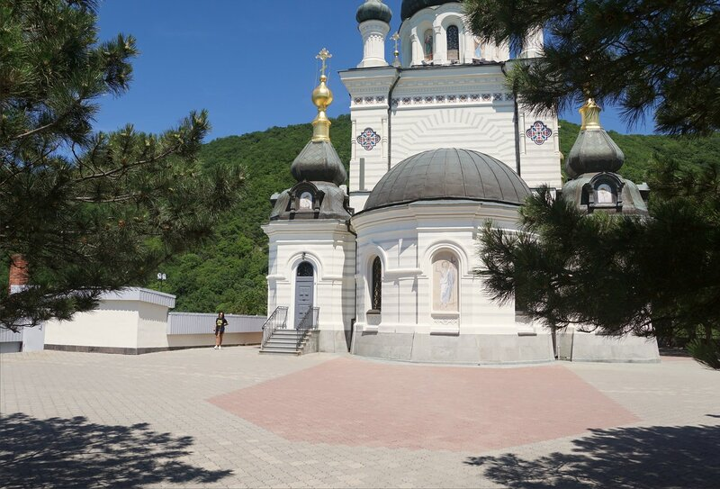 Храм Вознесения Господня в Форосе